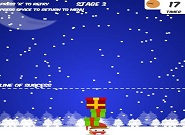 jeu flash Santa Stacker